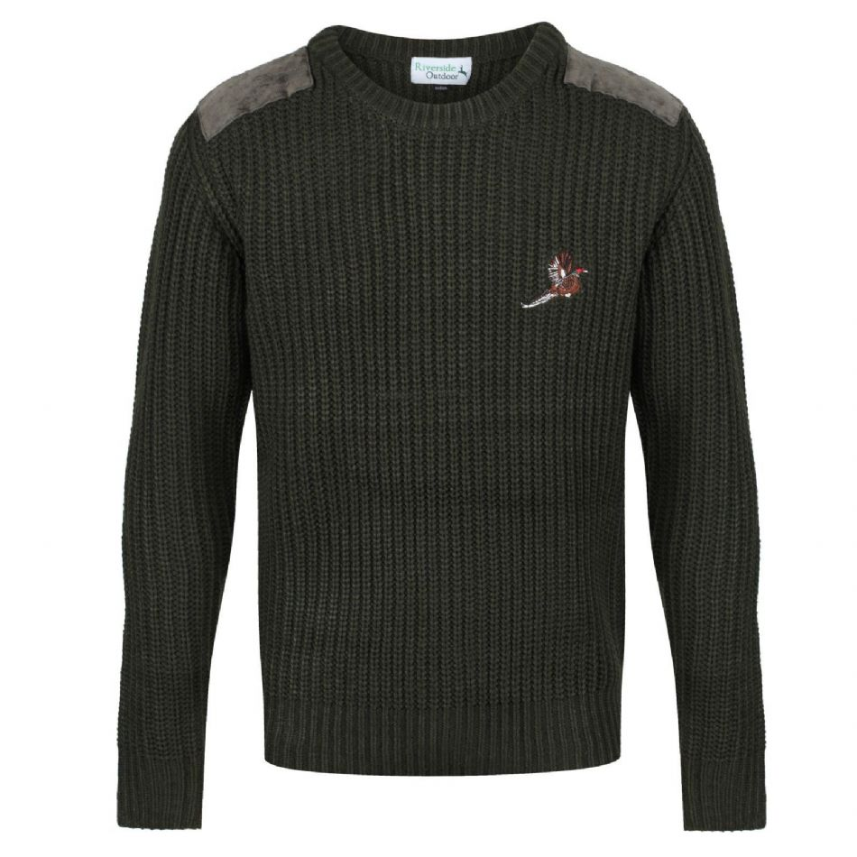 Quality Country Shooting Jumper Warm Chunky Comfortable Traditional Pheasant New